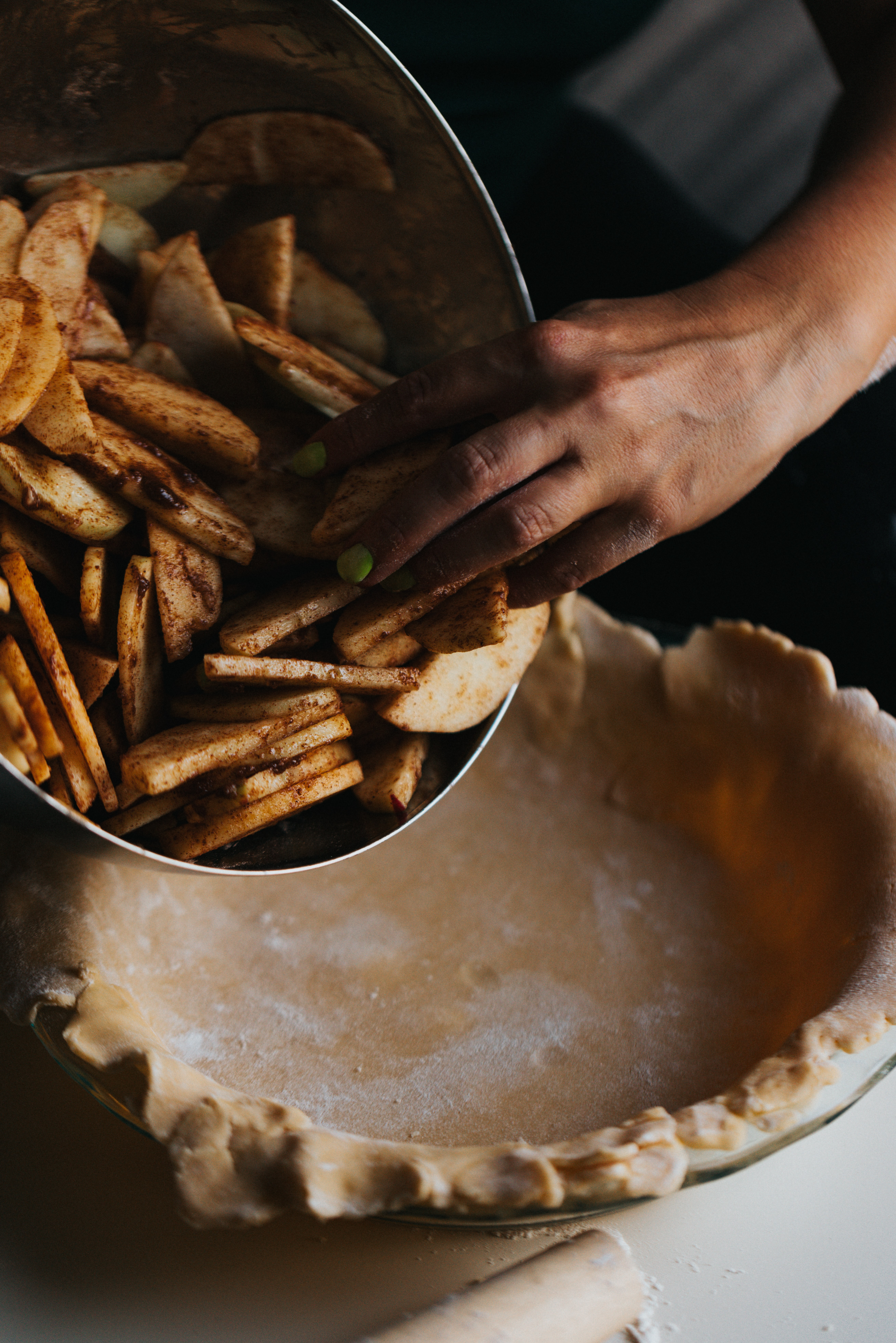 Recette tarte aux pommes rustique